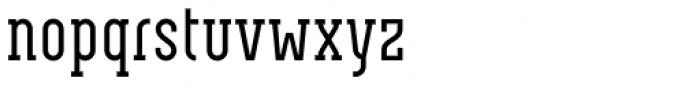 Neubau Serif Font LOWERCASE