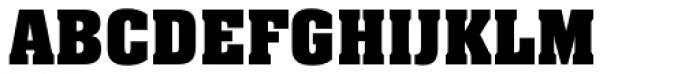 Neue Aachen Pro Bold Font UPPERCASE