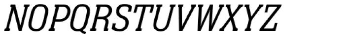 Neue Aachen Pro Light Italic Font UPPERCASE