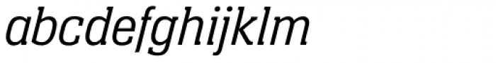 Neue Aachen Pro Light Italic Font LOWERCASE