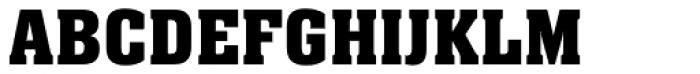 Neue Aachen Pro SemiBold Font UPPERCASE