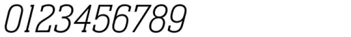 Neue Aachen Std Thin Italic Font OTHER CHARS