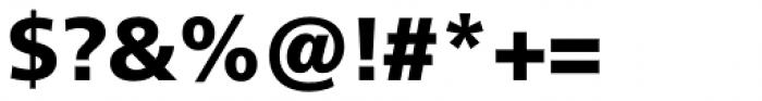Neue Frutiger Hebrew Black Font OTHER CHARS