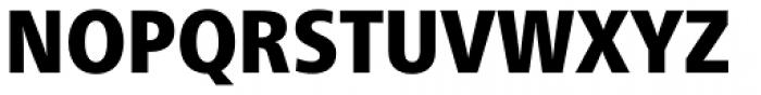 Neue Frutiger Paneuropean W1G Condensed Black Font UPPERCASE