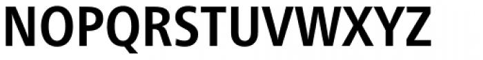Neue Frutiger Paneuropean W1G Condensed Bold Font UPPERCASE