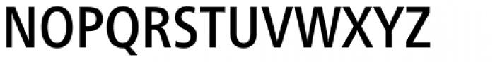 Neue Frutiger Paneuropean W1G Condensed Medium Font UPPERCASE