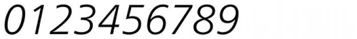 Neue Frutiger Paneuropean W1G Light Italic Font OTHER CHARS