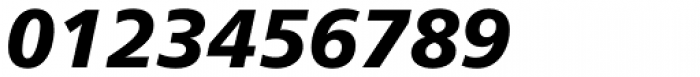 Neue Frutiger Pro Black Italic Font OTHER CHARS