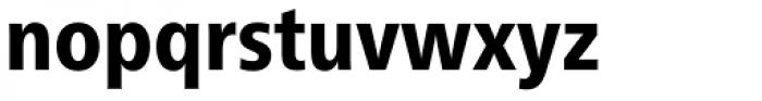 Neue Frutiger Pro Cyrillic Condensed Heavy Font LOWERCASE