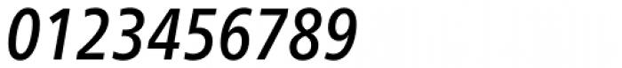 Neue Frutiger Pro Cyrillic Condensed Medium Italic Font OTHER CHARS