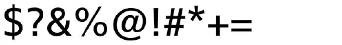 Neue Frutiger Pro Cyrillic Regular Font OTHER CHARS