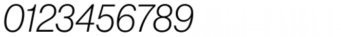 Neue Haas Grotesk Pro Display 36 ExtraLight Italic Font OTHER CHARS