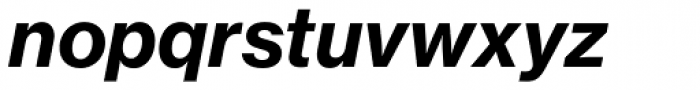 Neue Haas Grotesk Pro Text 76 Bold Italic Font LOWERCASE