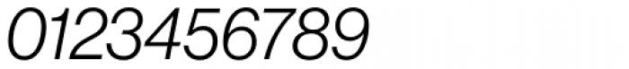 Neue Haas Grotesk Std Display 46 Light Italic Font OTHER CHARS