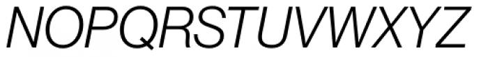 Neue Haas Grotesk Std Display 46 Light Italic Font UPPERCASE