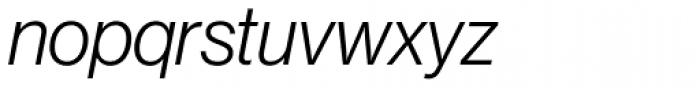 Neue Haas Grotesk Std Display 46 Light Italic Font LOWERCASE