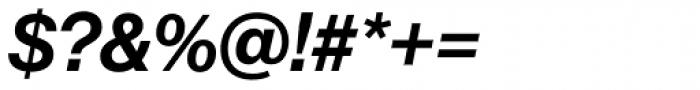Neue Haas Grotesk Std Display 66 Medium Italic Font OTHER CHARS
