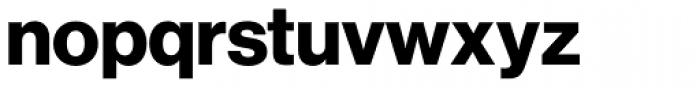 Neue Haas Grotesk Std Display 75 Bold Font LOWERCASE