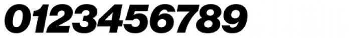 Neue Haas Grotesk Std Display 96 Black Italic Font OTHER CHARS