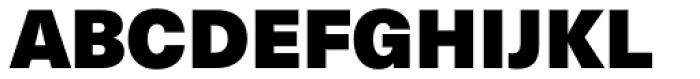 Neue Haas Unica Pro XBlack Font UPPERCASE