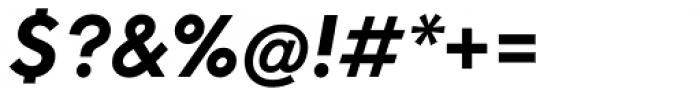 Neue Hans Kendrick Extra Bold Italic Font OTHER CHARS