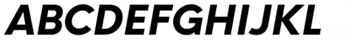 Neue Hans Kendrick Extra Bold Italic Font UPPERCASE