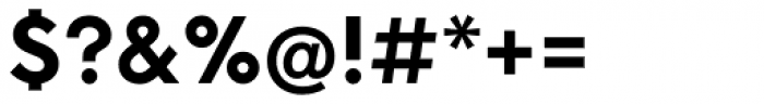 Neue Hans Kendrick Extra Bold Font OTHER CHARS