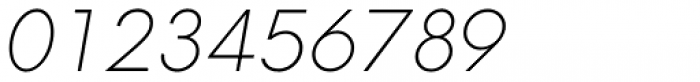Neue Hans Kendrick Extra Light Italic Font OTHER CHARS