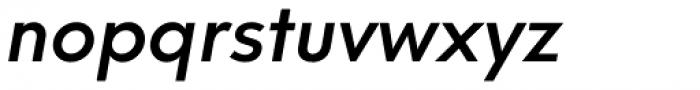 Neue Hans Kendrick Medium Italic Font LOWERCASE