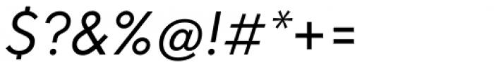 Neue Hans Kendrick Regular Italic Font OTHER CHARS