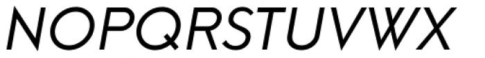 Neue Hans Kendrick Regular Italic Font UPPERCASE