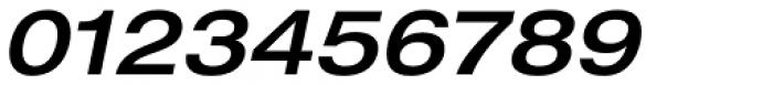 Neue Helvetica Paneuropean 63 Medium Extended Oblique Font OTHER CHARS