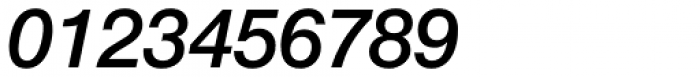 Neue Helvetica Paneuropean 66 Medium Italic Font OTHER CHARS