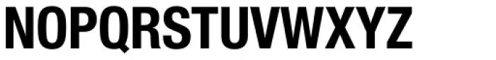 Neue Helvetica Paneuropean 77 Condensed Bold Font UPPERCASE