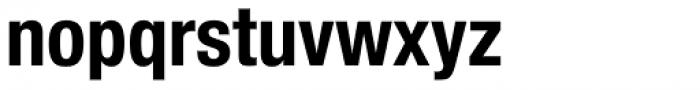 Neue Helvetica Paneuropean 77 Condensed Bold Font LOWERCASE