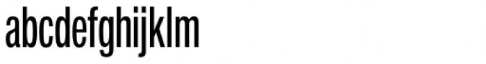 Neue Helvetica Pro 59 Regular Compressed Font LOWERCASE
