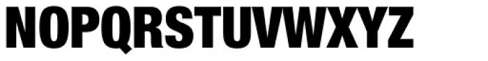 Neue Helvetica Pro 97 Black Condensed Font UPPERCASE