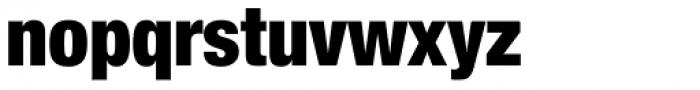 Neue Helvetica Pro 97 Black Condensed Font LOWERCASE