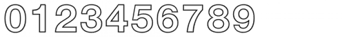 Neue Helvetica Std 75 Bold Outline Font OTHER CHARS