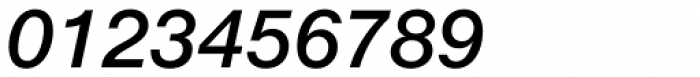 Neue Helvetica eText Std 66 Medium Italic Font OTHER CHARS