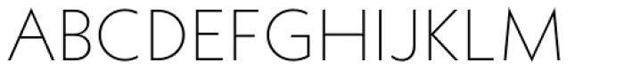 Neue Kabel Extra Light Font UPPERCASE