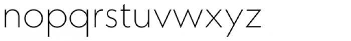 Neue Kabel Extra Light Font LOWERCASE