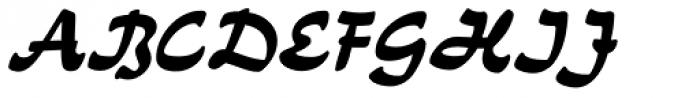 Neue Kurier Font UPPERCASE