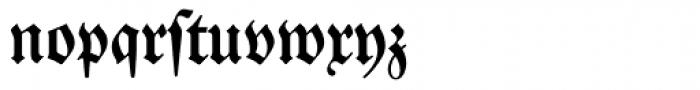 Neue Luthersche Fraktur Medium Dfr Font LOWERCASE