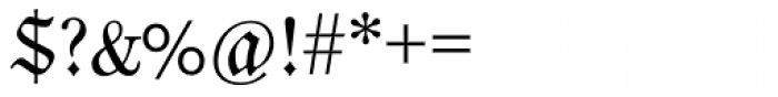 Neue Luthersche Fraktur Regular Font OTHER CHARS