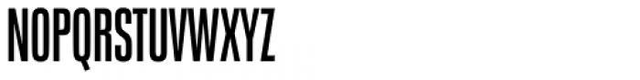 Neue Plak Compressed Semi Bold Font UPPERCASE