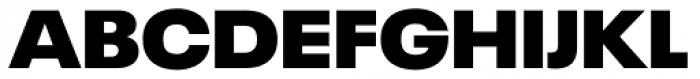 Neue Plak Extended Extra Black Font UPPERCASE