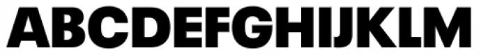 Neue Plak Extra Black Font UPPERCASE