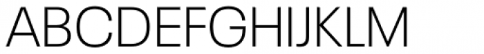Neue Plak Light Font UPPERCASE