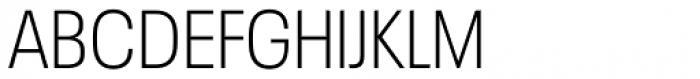 Neue Plak Narrow Light Font UPPERCASE